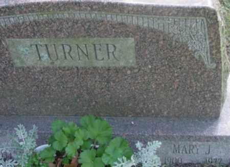 TURNER, MARY J - Berkshire County, Massachusetts | MARY J TURNER - Massachusetts Gravestone Photos