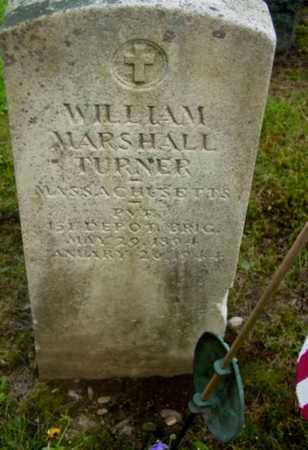 TURNER (WWI), WILLIAM MARSHALL - Berkshire County, Massachusetts | WILLIAM MARSHALL TURNER (WWI) - Massachusetts Gravestone Photos