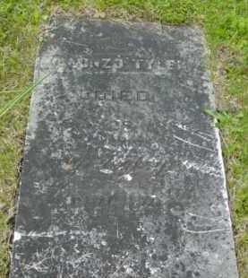 TYLER, ALONZO - Berkshire County, Massachusetts | ALONZO TYLER - Massachusetts Gravestone Photos