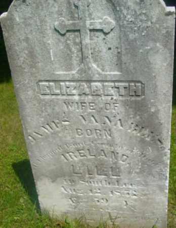 VANABLES, ELIZABETH - Berkshire County, Massachusetts | ELIZABETH VANABLES - Massachusetts Gravestone Photos