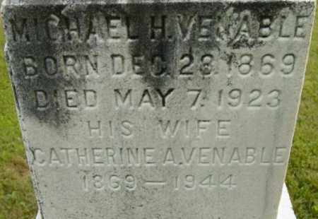 VENABLE, CATHERINE A - Berkshire County, Massachusetts | CATHERINE A VENABLE - Massachusetts Gravestone Photos