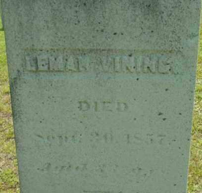 VINING, LEMAN - Berkshire County, Massachusetts | LEMAN VINING - Massachusetts Gravestone Photos