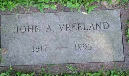 VREELAND, JOHN A - Berkshire County, Massachusetts | JOHN A VREELAND - Massachusetts Gravestone Photos