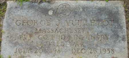 VUILLEMOT, GEORGE J - Berkshire County, Massachusetts | GEORGE J VUILLEMOT - Massachusetts Gravestone Photos