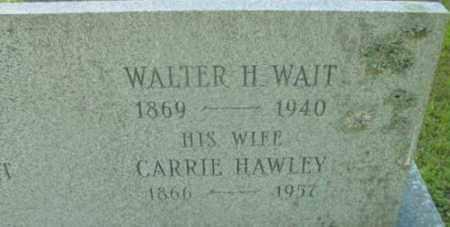 HAWLEY, CARRIE - Berkshire County, Massachusetts | CARRIE HAWLEY - Massachusetts Gravestone Photos
