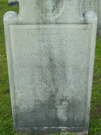 WALDO, JUDITH - Berkshire County, Massachusetts | JUDITH WALDO - Massachusetts Gravestone Photos