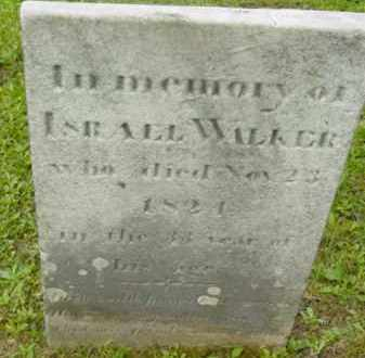 WALKER, ISRAEL - Berkshire County, Massachusetts | ISRAEL WALKER - Massachusetts Gravestone Photos