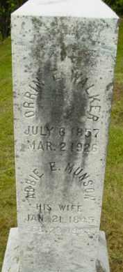 WALKER, ORRIN E - Berkshire County, Massachusetts | ORRIN E WALKER - Massachusetts Gravestone Photos