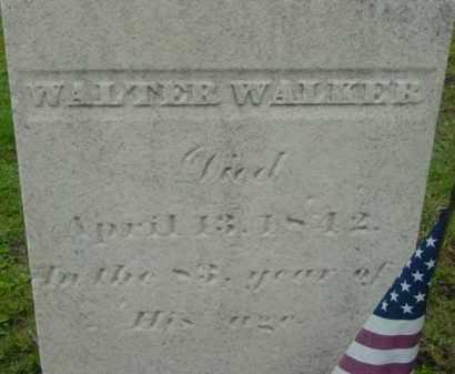 WALKER, WALTER - Berkshire County, Massachusetts | WALTER WALKER - Massachusetts Gravestone Photos