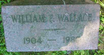 WALLACE, WILLIAM T - Berkshire County, Massachusetts | WILLIAM T WALLACE - Massachusetts Gravestone Photos