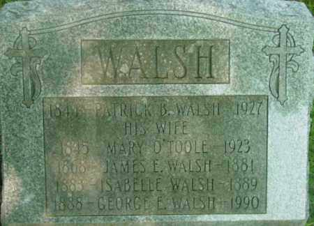 WALSH, GEORGE E - Berkshire County, Massachusetts | GEORGE E WALSH - Massachusetts Gravestone Photos