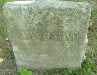 WARNER, BABY - Berkshire County, Massachusetts   BABY WARNER - Massachusetts Gravestone Photos