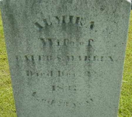 WARREN, ALMIRA - Berkshire County, Massachusetts | ALMIRA WARREN - Massachusetts Gravestone Photos