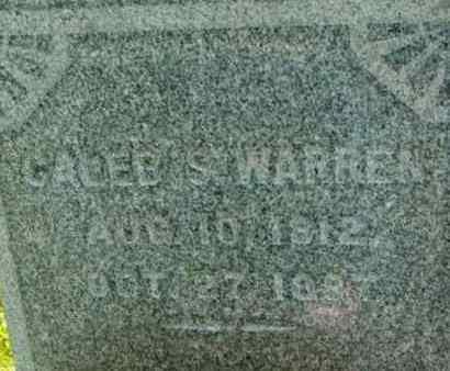 WARREN, CALEB S - Berkshire County, Massachusetts | CALEB S WARREN - Massachusetts Gravestone Photos