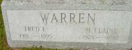 WARREN, M ELAINE - Berkshire County, Massachusetts | M ELAINE WARREN - Massachusetts Gravestone Photos