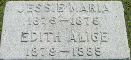 WARREN, JESSIE MARIA - Berkshire County, Massachusetts | JESSIE MARIA WARREN - Massachusetts Gravestone Photos