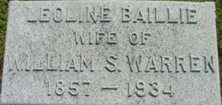 WARREN, LEOLINE - Berkshire County, Massachusetts   LEOLINE WARREN - Massachusetts Gravestone Photos