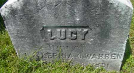 WARREN, LUCY - Berkshire County, Massachusetts   LUCY WARREN - Massachusetts Gravestone Photos