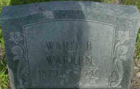 WARREN, WARD B - Berkshire County, Massachusetts | WARD B WARREN - Massachusetts Gravestone Photos
