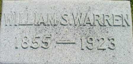 WARREN, WILLIAM S - Berkshire County, Massachusetts   WILLIAM S WARREN - Massachusetts Gravestone Photos