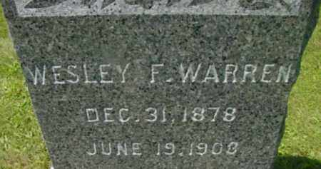 WARREN, WESLEY F - Berkshire County, Massachusetts | WESLEY F WARREN - Massachusetts Gravestone Photos
