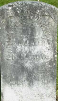 WARRINER (CW), ORLANDO - Berkshire County, Massachusetts | ORLANDO WARRINER (CW) - Massachusetts Gravestone Photos