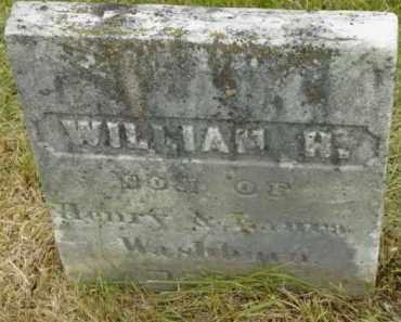 WASHBURN, WILLIAM H - Berkshire County, Massachusetts | WILLIAM H WASHBURN - Massachusetts Gravestone Photos