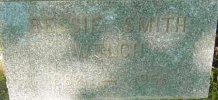 SMITH WELCH, BESSIE - Berkshire County, Massachusetts | BESSIE SMITH WELCH - Massachusetts Gravestone Photos