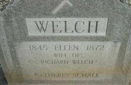 WELCH, ELLEN - Berkshire County, Massachusetts | ELLEN WELCH - Massachusetts Gravestone Photos