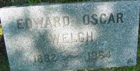 WELCH, EDWARD OSCAR - Berkshire County, Massachusetts | EDWARD OSCAR WELCH - Massachusetts Gravestone Photos
