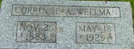 WELLMAN, CORRINNE A - Berkshire County, Massachusetts | CORRINNE A WELLMAN - Massachusetts Gravestone Photos