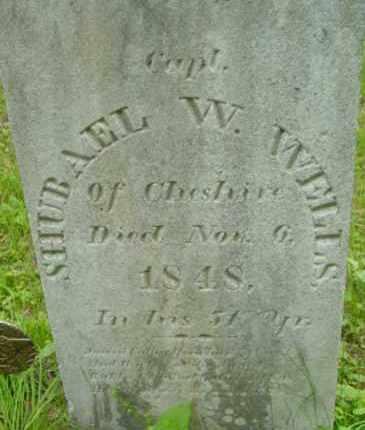 WELLS, SHUBAEL W - Berkshire County, Massachusetts | SHUBAEL W WELLS - Massachusetts Gravestone Photos