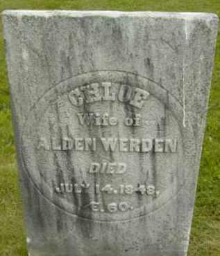 WERDEN, CHLOE - Berkshire County, Massachusetts | CHLOE WERDEN - Massachusetts Gravestone Photos