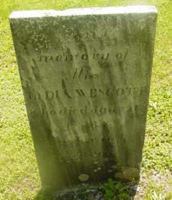 WESCOTT, LYDIA - Berkshire County, Massachusetts | LYDIA WESCOTT - Massachusetts Gravestone Photos