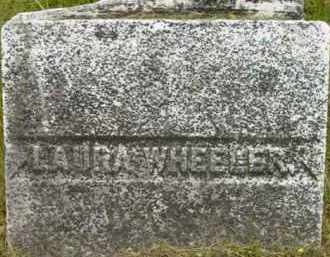 WHEELER, LAURA - Berkshire County, Massachusetts | LAURA WHEELER - Massachusetts Gravestone Photos