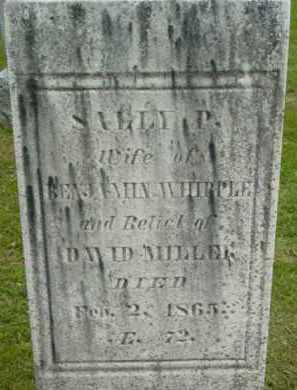 MILLER, SALLY P - Berkshire County, Massachusetts   SALLY P MILLER - Massachusetts Gravestone Photos