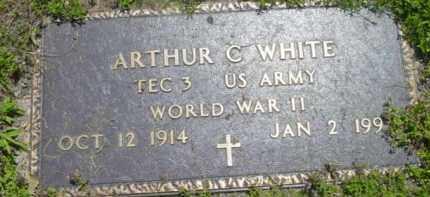 WHITE, ARTHUR C - Berkshire County, Massachusetts | ARTHUR C WHITE - Massachusetts Gravestone Photos