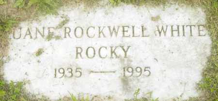 WHITE, DUANE ROCKWELL - Berkshire County, Massachusetts | DUANE ROCKWELL WHITE - Massachusetts Gravestone Photos