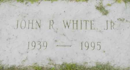 WHITE, JOHN R - Berkshire County, Massachusetts | JOHN R WHITE - Massachusetts Gravestone Photos