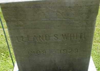 WHITE, LELAND S - Berkshire County, Massachusetts | LELAND S WHITE - Massachusetts Gravestone Photos