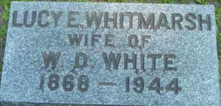 WHITE, LUCY E - Berkshire County, Massachusetts | LUCY E WHITE - Massachusetts Gravestone Photos