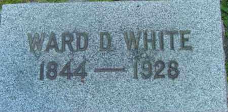 WHITE, WARD D - Berkshire County, Massachusetts | WARD D WHITE - Massachusetts Gravestone Photos