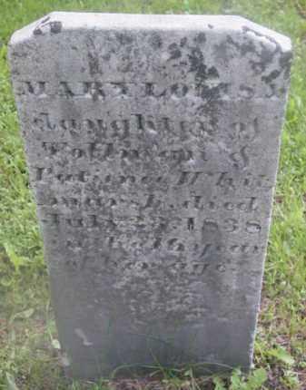 WHITMARSH, MARY LOUISA - Berkshire County, Massachusetts | MARY LOUISA WHITMARSH - Massachusetts Gravestone Photos