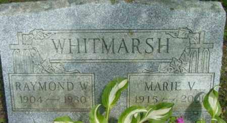 WHITMARSH, MARIE V - Berkshire County, Massachusetts | MARIE V WHITMARSH - Massachusetts Gravestone Photos