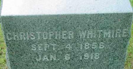 WHITMIRE, CHRISTOPHER - Berkshire County, Massachusetts | CHRISTOPHER WHITMIRE - Massachusetts Gravestone Photos