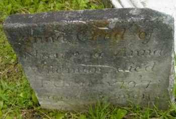 WILDMAN, ANNA - Berkshire County, Massachusetts   ANNA WILDMAN - Massachusetts Gravestone Photos