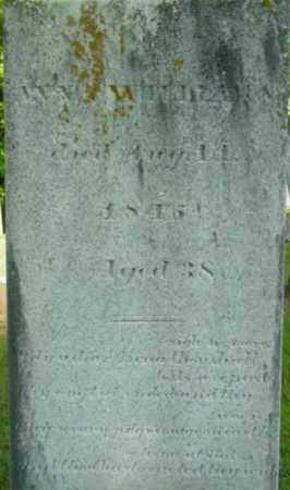 WILLIAMS, ANN A - Berkshire County, Massachusetts | ANN A WILLIAMS - Massachusetts Gravestone Photos