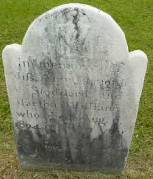 WILLIAMS, ANNA - Berkshire County, Massachusetts | ANNA WILLIAMS - Massachusetts Gravestone Photos