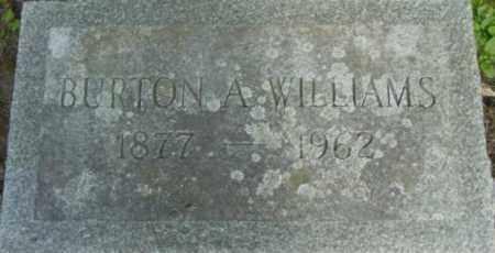 WILLIAMS, BURTON A - Berkshire County, Massachusetts | BURTON A WILLIAMS - Massachusetts Gravestone Photos