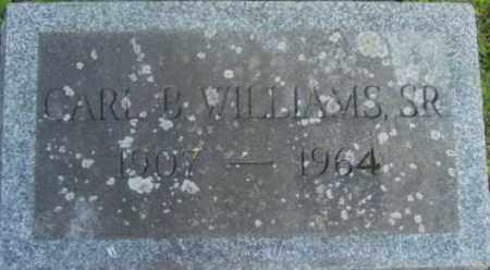 WILLIAMS, CARL B - Berkshire County, Massachusetts   CARL B WILLIAMS - Massachusetts Gravestone Photos